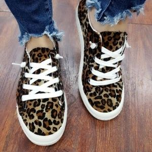 Leopard Comfort Sneakers
